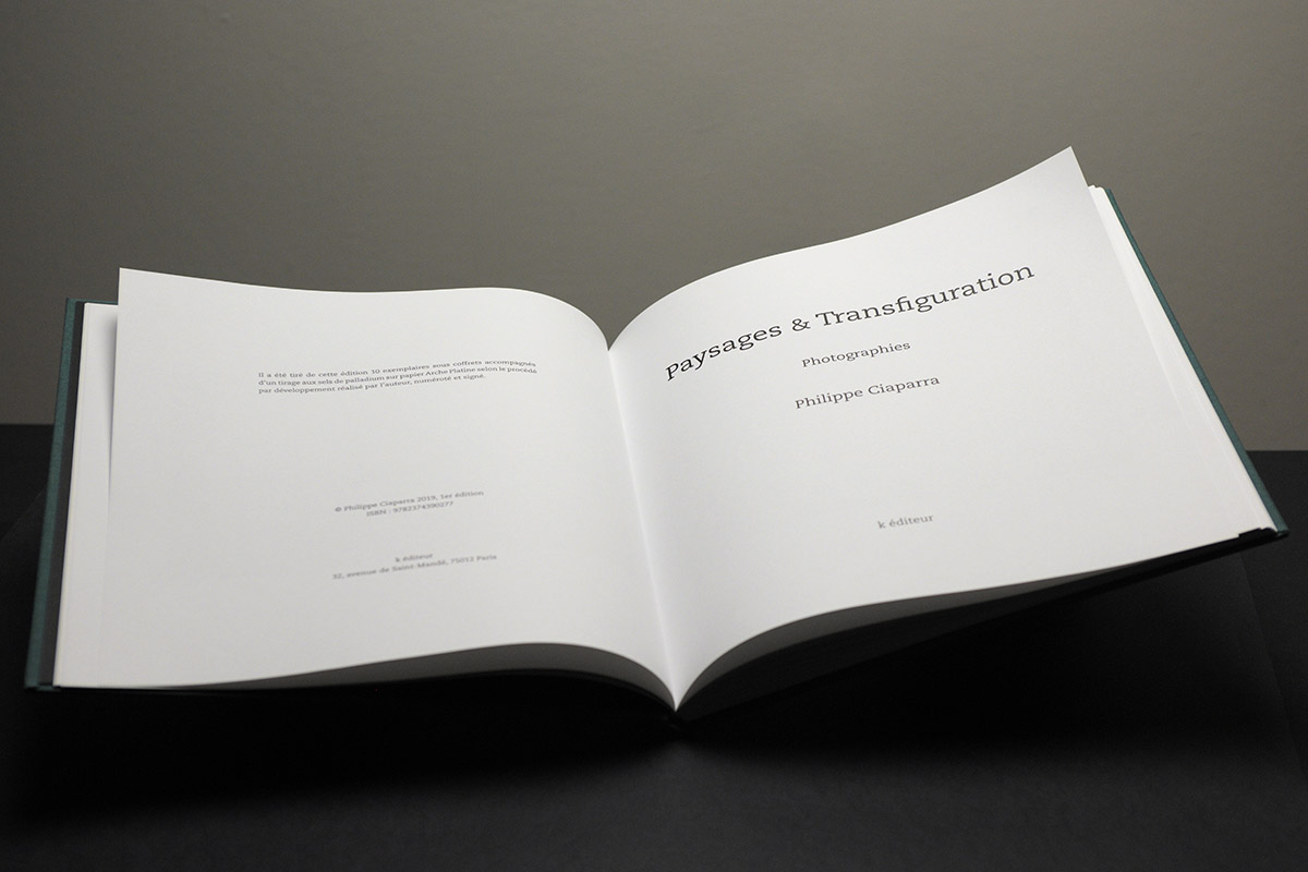 Paysages & Transfiguration / Philippe Ciaparra